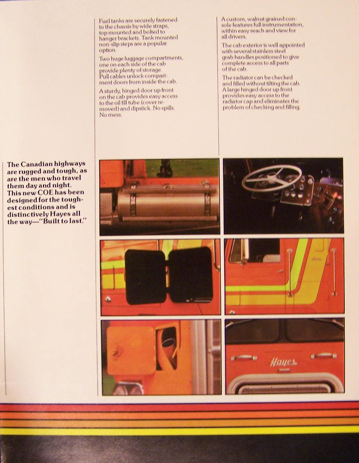 1975 Hayes Clipper brochure